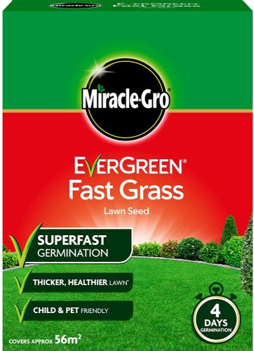 Miracle Gro Evergreen Fast Grass